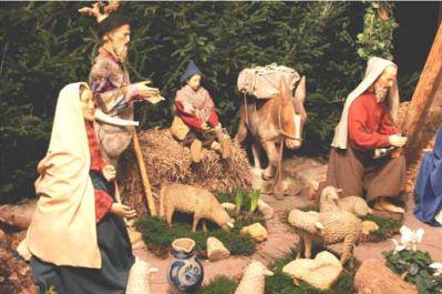 Weihnachtsgottesdienste, Krippe St. Severin