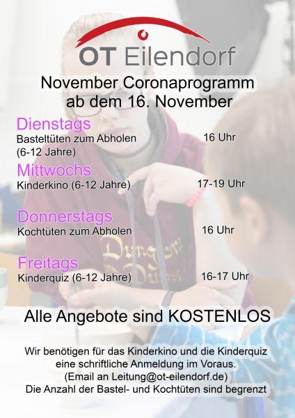 November Coronaprogramm